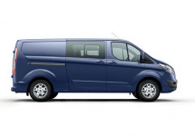 Personenbus huren - Ford Transit - DUBBELE CABINE